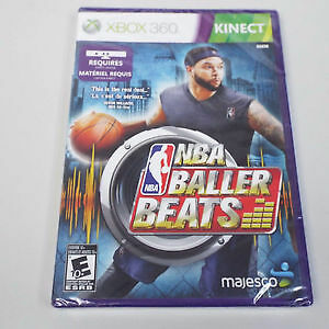 NBA Baller Beats Xbox 360 (BRAND NEW)