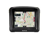 """Rupse Waterproof Bluetooth Motorcycle 3.5"""" Touch Screen GPS SatNav Sat Nav Motorbike Navigation"""