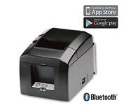 Bluetooth receipt printer, Star Micronics TSP654 - brand new! iZettle/iOS/Android