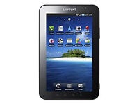Samsung P1000 Galaxy Tab 7-inch 3G + Wi-Fi Tablet. New battery. SD card, cable & case included.