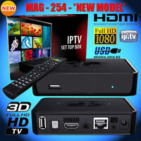 MAG254 IPTV BOX WHOLESALE AND RETAIL GET LIVE TV CHANNELS