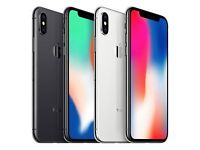 APPLE IPHONE X 64GB UNLOCKED BRAND NEW COMES WITH APPLE WARRANTY AND RECEIPT