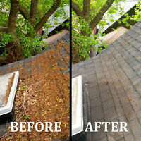 Eavestrough Spring Cleaning