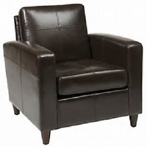 Caswell Leather Lounge Chair