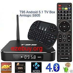 """""""NEW"""" Penta core Android TV box with wireless Mouse/Keyboard Inc Cambridge Kitchener Area image 1"""