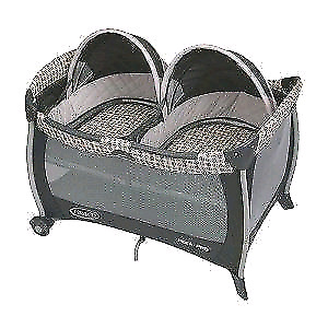 Graco twin pack n play