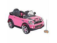 Pink mini Cooper must go a.s.a.p