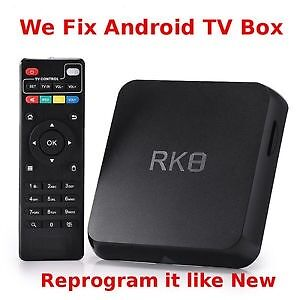 Android Box Repair / Fix / Update / Custom Programming