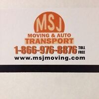 MSJ Transport:Ottawa,Calgary,Toronto,Nova Scotia,Kitchener, etc
