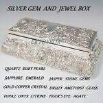 Silver Gem and Jewel Box