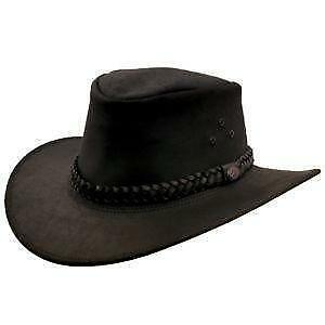 48a530a9e4d Leather Cowboy Hat