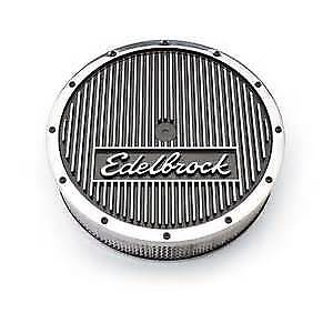 "Edelbrock 14"" Elite Air Cleaner."