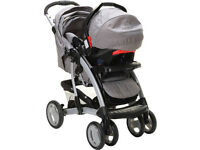 Pushchair Buggy with Baby Seat (Very Good Condition used for 8 months only)