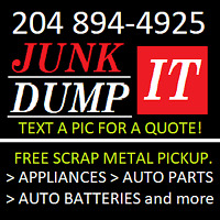 WPG JUNK REMOVAL SERVICE // CALL // TEXT // BRAD / 204 894-4925