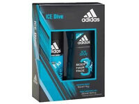 adidas gift set (body spray and shower gel)