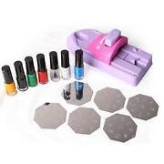 Nail Art Stamping Set