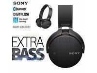 Brand new Sony EXTRA BASS Bluetooth headphones