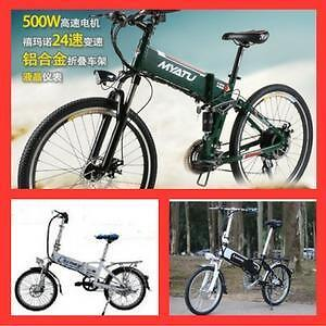 "Weekly Big  Promotion!!!   High-end eBike, 14"", 20"", 24"",  26"" Folding/City Mountain eBike starting from $1099"