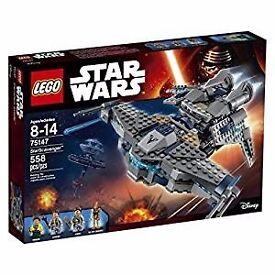 lego star wars brand new sealed