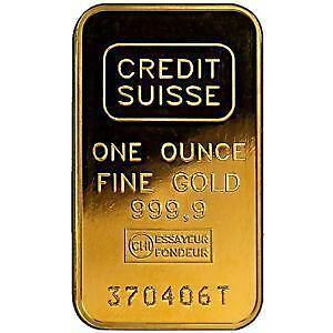 Credit Suisse Bullion Ebay