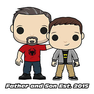 Father and Son Pop Vault!
