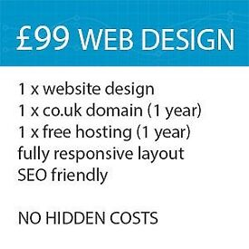 Professional website affordable and mobile friendly