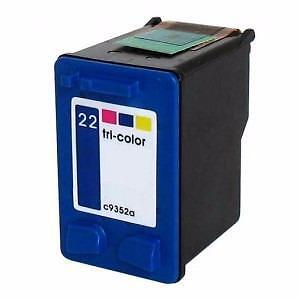 Hp 22 (C9352A) Ink Cartridge Tricolor Remanufactured