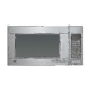 Micro-ondes GE de comptoir de 1.1 pi3, 1100W en acier inoxydable (SKU : 1426 )