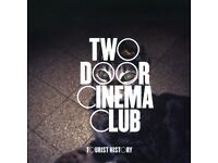 3x Standing tickets to Two Door Cinema Club- Friday 27th January