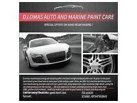 Auto & Boat paint and Gel paint coat care