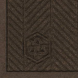 New in Box -Chestnut Brown Polyester Entrance Mat