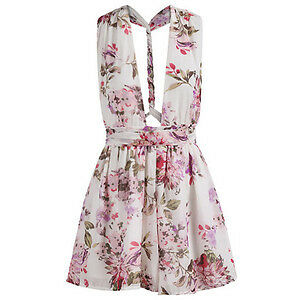 BRAND NEW Crisscross Multiple- Tie Flower Print Romper Playsuit Kitchener / Waterloo Kitchener Area image 5