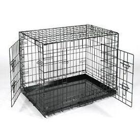 Large RAC 2-door Metal Dog Cage/Crate