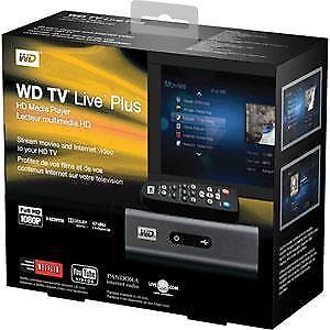 WD TV HD Media Player WD00AVN-00 & Remote (HDMI capable)