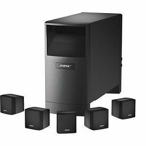 Bose acoustimass speakers with sub and 2 301 book shelf speakers