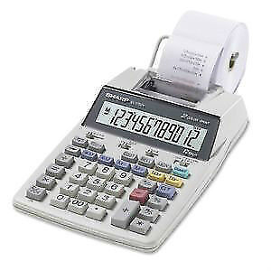 SHARP electric printing calculator