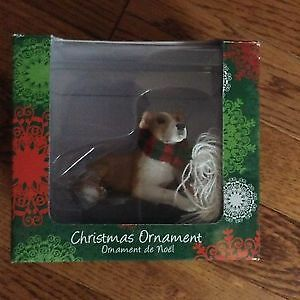 Pit bull Christmas ornament- brand new in box