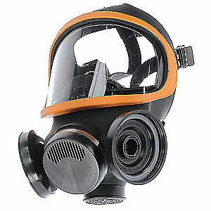 Ultra-Twin Full-Facepiece Respirator, Large, (No Cartridges)