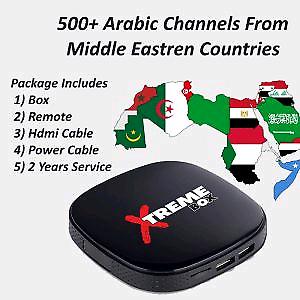 HD IPTV - Arabic Box 500 Channels