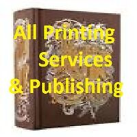 all Printing Services !!!!!!