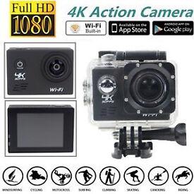 action Camera 4K ultra hd 16mp also got headphones etc