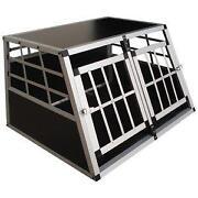 hundetransportbox alu transportboxen taschen ebay. Black Bedroom Furniture Sets. Home Design Ideas