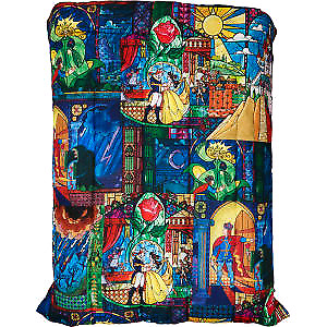 Disney Beauty and the beast queen comforter