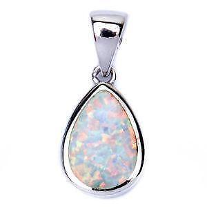 Fire opal pendant ebay aloadofball Gallery