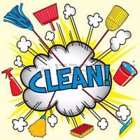 House or office cleaning available