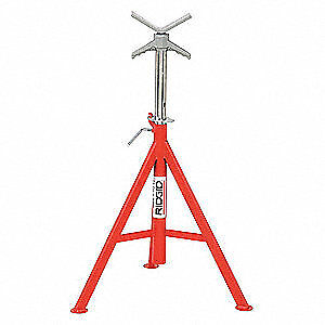 Pair of Rigid Adjustable Pipe stands