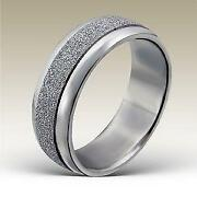 Womens Stainless Steel Ring