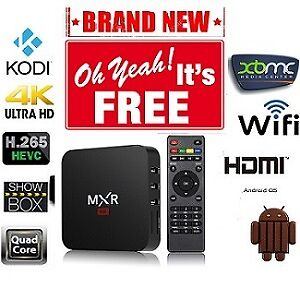 4K  Android TV Box FULLY LOADED FREE Live TV, Movies, TV Shows