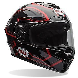 Casque moto Bell Star pace black red size Large