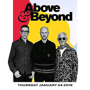 2x Tickets to Above and Beyond @ Rebel Nightclub --Thurs Jan 24